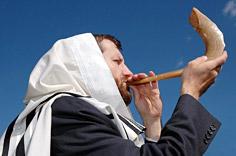 Rosh Hashanah - Blowing Shofar