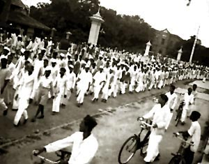 Bangalore during Quit India movement by Indian National Congress