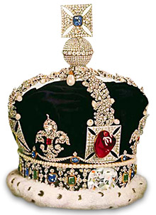 Imperial State Crown  of England
