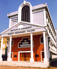 Institute of Management - Shrimati Indira Gandhi College, Chatram Bud Stand, Tiruchirappalli, Tamil Nadu