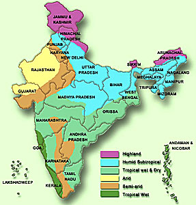 Ancient india geography thinglink for Soil zones of india