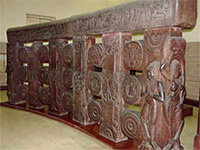 Bharhut gallery displays the railing
