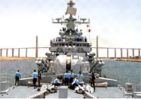 Indian Navy Sailors