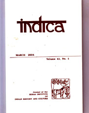 Journal of The Heras Institute of Indian History and Culture, Mumbai