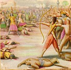 Indrajit Frightful war