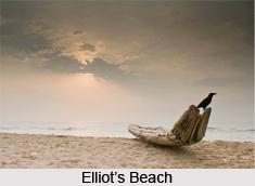Elliot's Beach, Chennai, Tamil Nadu