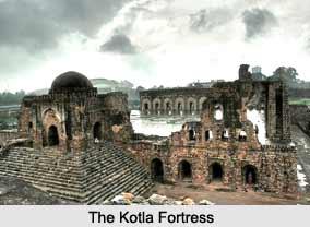 Feroz Shah Kotla, a Fortress in Delhi