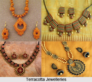 Terracotta Jewellery in India