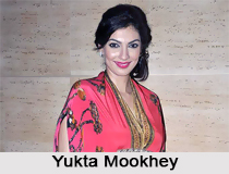 Yukta Mookhey, Bollywood Actress