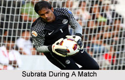 Subrata Pal, Indian Football Player