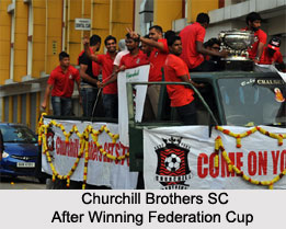 Churchill Brothers S.C, Indian Football Club