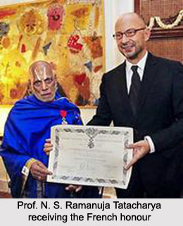 Prof. N. S. Ramanuja Tatacharya, Indian Sanskrit Scholar