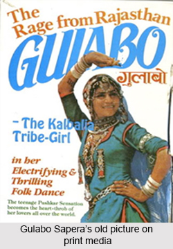 Gulabo Sapera, Indian Folk Dancer