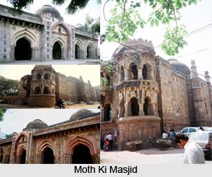 Moth Ki Masjid, Delhi