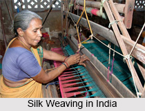 Silk Weaving in South India