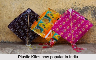 Kite flying in India