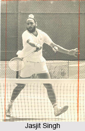 Jasjit Singh, Indian Tennis Player