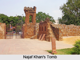 Najaf Khan's Tomb, Delhi