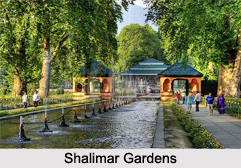 Architecture of Shalimar Gardens