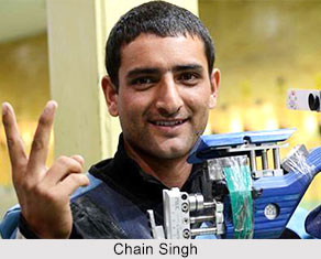 Chain Singh, Indian Shooter