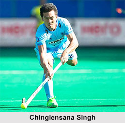 Chinglensana Singh, Indian Hockey Player