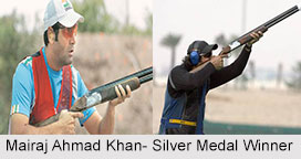 Mairaj Ahmad Khan, Indian Shooter