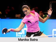 Manika Batra, Indian Table Tennis Player