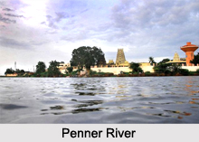 Penner River, Chickballapur District, Karnataka