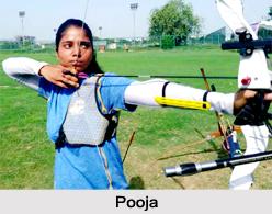 Pooja, Indian Archery