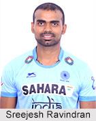 Sreejesh Ravindran, Indian Hockey Player