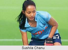 Sushila Chanu Pukhrambam, Indian Hockey Player