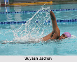 Suyash Jadhav, Indian Para Swimmer