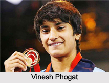Vinesh Phogat, Indian Wrestler