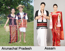 Costumes of North-East Indian States, Indian Costume
