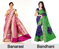 Sarees of North India