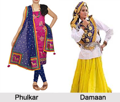 Costumes of North Indian States, Indian Costume