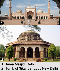 Historical Monuments of Delhi, Indian Monuments