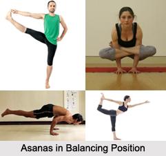 Asanas in Balancing Position, Yoga Asanas