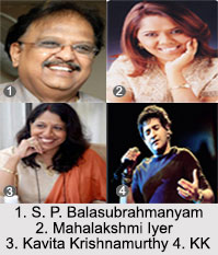 Playback Singers of South India