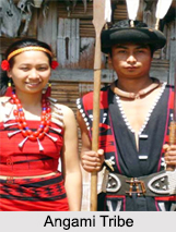 Angami Tribe, North East India