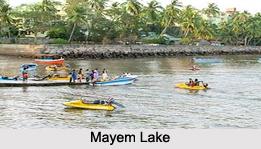 Lakes in Goa