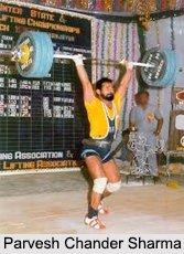 Indian Male Weightlifter
