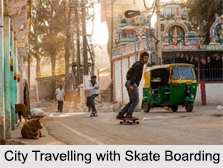 Skate Boarding, Adventure Sport in India