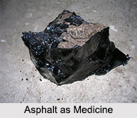 Use of Asphalt as Medicines