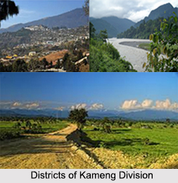 Districts Of Kameng Division, Arunachal Pradesh