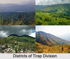 Districts Of Tirap Division, Arunachal Pradesh