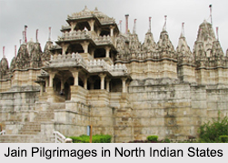Jain Pilgrimages in North Indian States