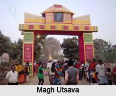Maghoutsava, Shantiniketan, West Bengal