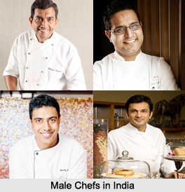 Male Chefs in India, Indian Chefs