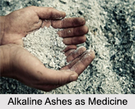 Use of Alkaline Ashes as Medicines